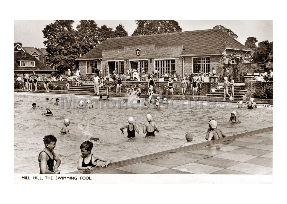 Image result for Mill Hill Swimming Pool